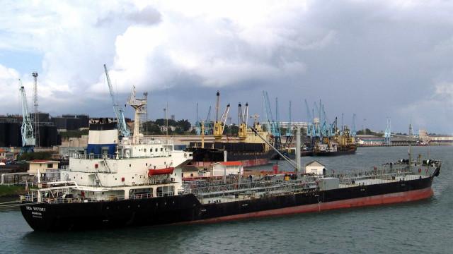 Portos do continente registam 54,7 milhões de toneladas em julho
