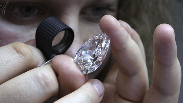 Angola arrecadou 34,3 MEuro em receitas da exportação de diamantes