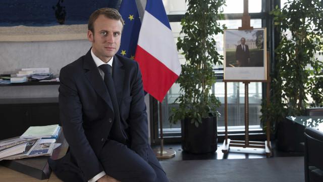 Coreia do Norte felicita Emmanuel Macron pela vitória