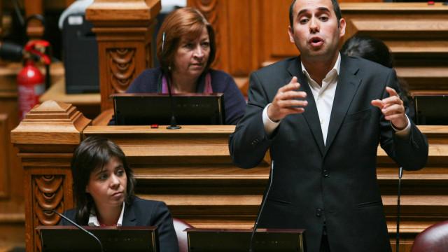 Pedro Filipe Soares retoma mandato como deputado do Bloco de Esquerda