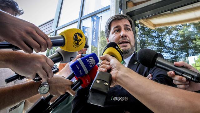 Bruno de Carvalho já começou a ser ouvido pelo juiz
