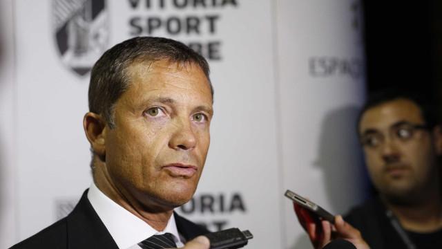 Presidente do Vitória SC diz que o balanço da época só se faz no fim