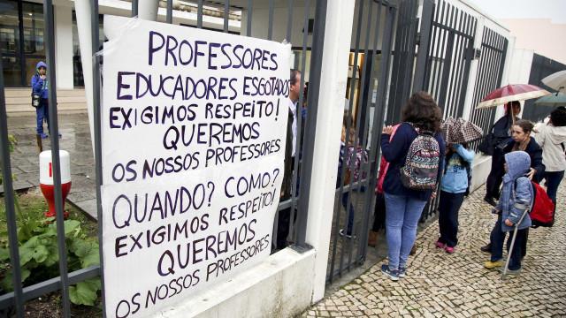 """Governo mantém """"2 anos, 9 meses e 18 dias"""" para professores em janeiro"""
