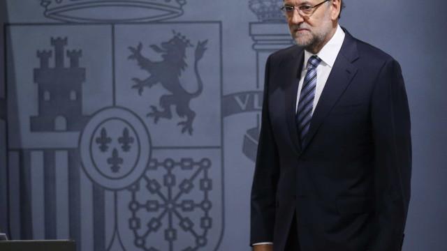 Mariano Rajoy está a acompanhar situação em Barcelona