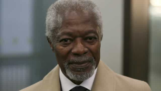 Morreu Kofi Annan, antigo secretário-geral das Nações Unidas