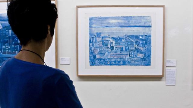 Exposição sobre Galerie Jeanne Jaeger inaugurada no Museu Vieira da Silva