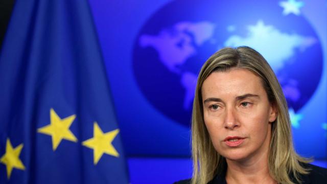 União Europeia admite aplicação de sanções à Venezuela