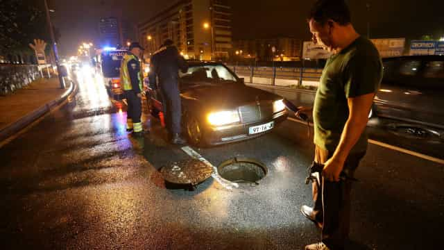 Mau tempo: Proteção Civil desaconselha viagens para distritos afetados