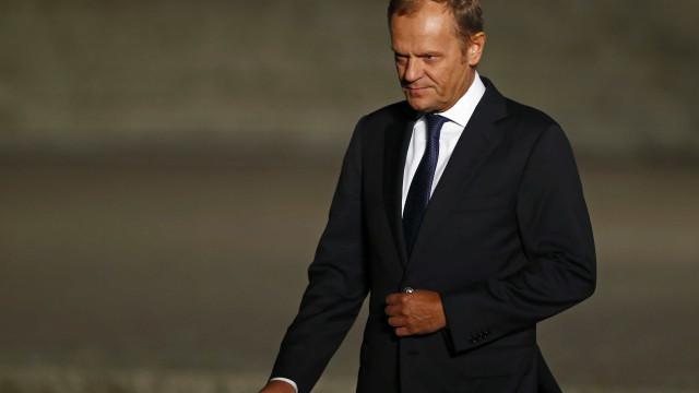 Tusk convoca reunião de líderes sobre Brexit para 5.ª feira