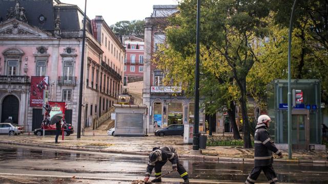 Registadas mais de 100 ocorrências sem gravidade devido à chuva