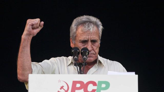 """PCP diz que valor de 600 euros de salário mínimo """"não é irrealista"""""""