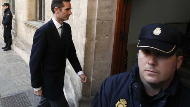 Cunhado do rei de Espanha já deu entrada em prisão... de mulheres