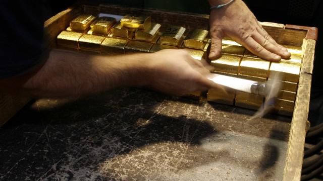 Ouro ganha terreno na sessão de terça-feira