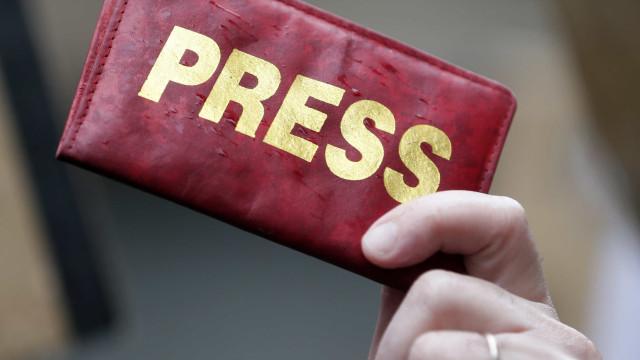 Jornalistas manifestam-se em Madrid para defender segredo das fontes