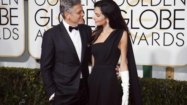 George e Amal Clooney vistos em novo jantar romântico
