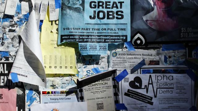 Taxa de desemprego estável em 3,7% nos EUA em novembro