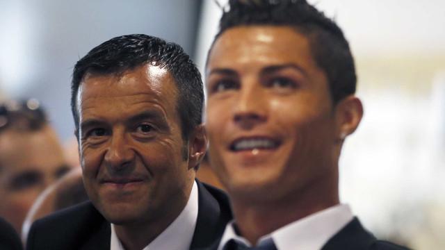 Cristiano Ronaldo defendeu Jorge Mendes em tribunal