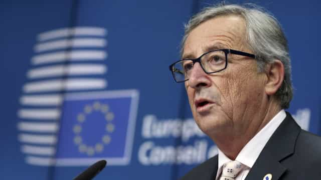 Juncker diz que esforços de Trump para dividir os europeus são inúteis