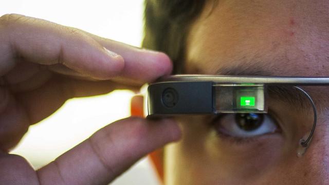 Os óculos da Google estão bem 'vivos'