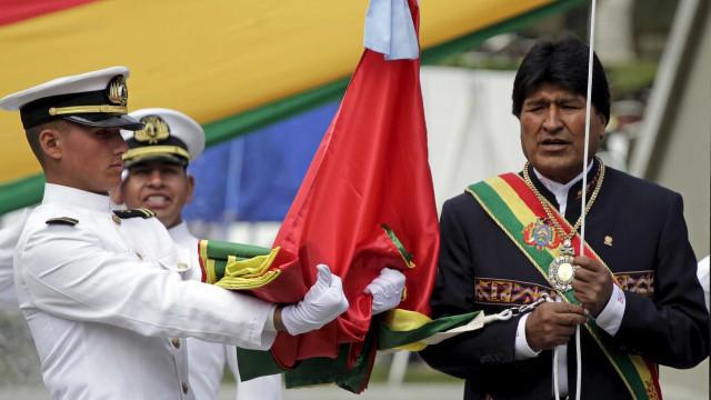 Roubaram a medalha presidencial da Bolívia