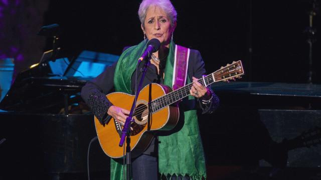 Joan Baez despede-se da música (também) com concerto em Portugal