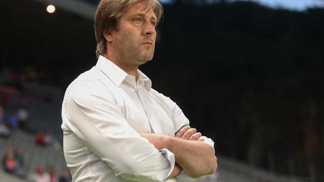 Oficial: Pedro Martins abandona o comando técnico do Vitória
