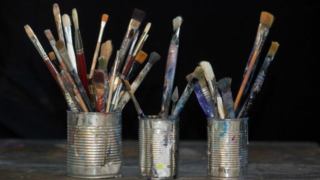 Artista plástico Saulo Silveira expõe pintura em Lisboa