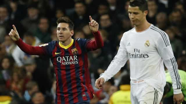 """""""O Barcelona tem um fora de série, enquanto o Real Madrid já não o tem"""""""