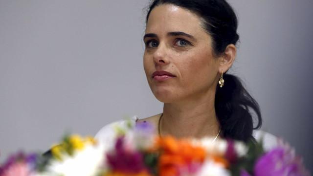Ministra da Justiça israelita diz que Trump está a perder tempo