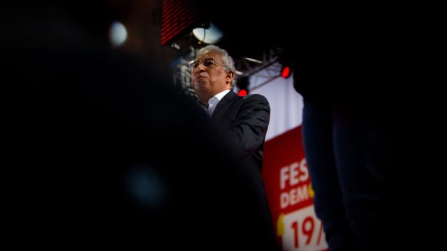 Costa apresenta hoje nomes dos novos secretários de Estado a Marcelo
