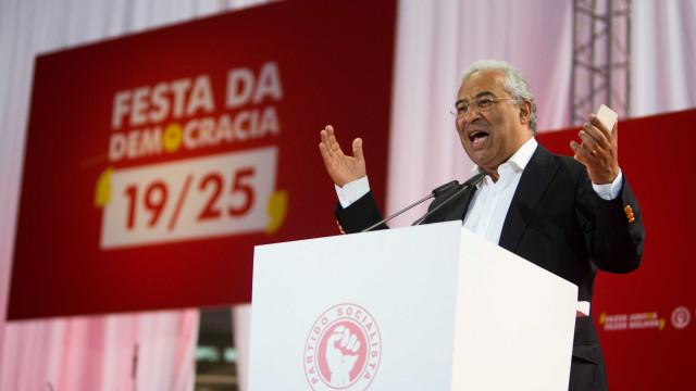 """Costa recordou feitos do Governo mas diz que """"há mais e melhor a fazer"""""""
