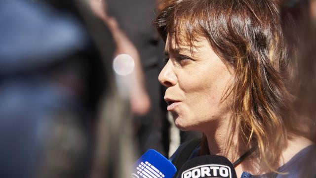 """Catarina Martins quer que pinhal de Leiria """"seja diversificado"""""""