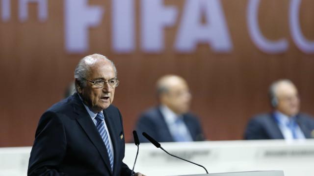"""Blatter """"muito confiante"""" antes de comparecer no Tribunal Arbitral"""