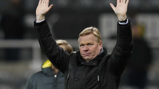 Oficial: Ronald Koeman já não é treinador do Everton