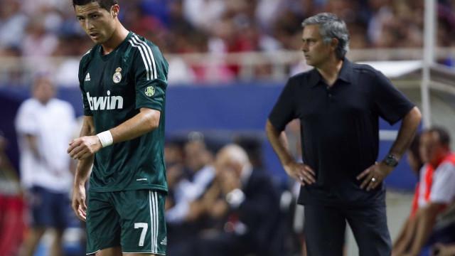 Mourinho terá vetado transferência de Cristiano Ronaldo para Manchester
