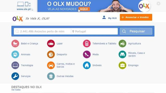 OLX: Primeiro anúncio para arrendamento de casas passa a ser gratuito