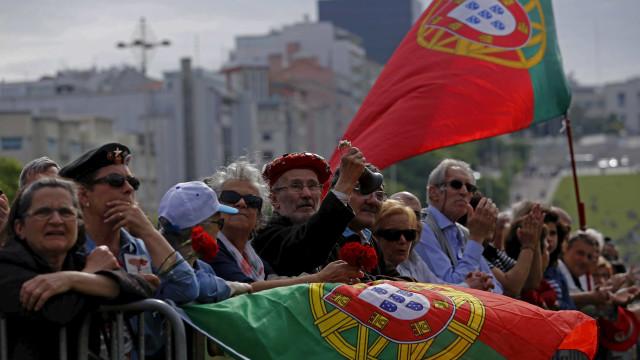 Segundo dia de comemorações começa nos Açores e termina nos EUA