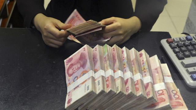 Taxas de câmbio do yuan definidas pelo Banco Central da China