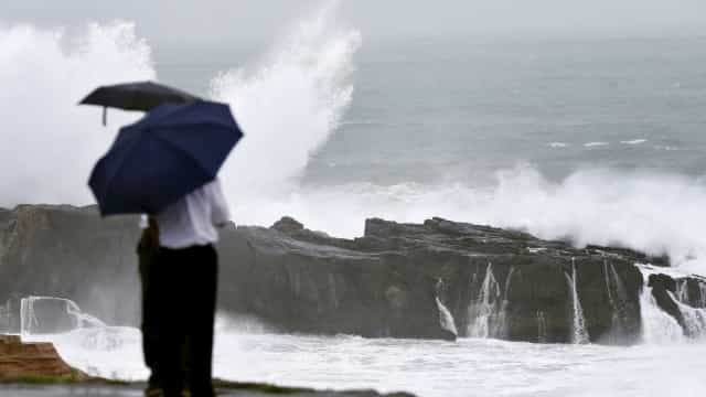 Chuva, vento, agitação marítima (e até neve). Eis a sua quarta-feira