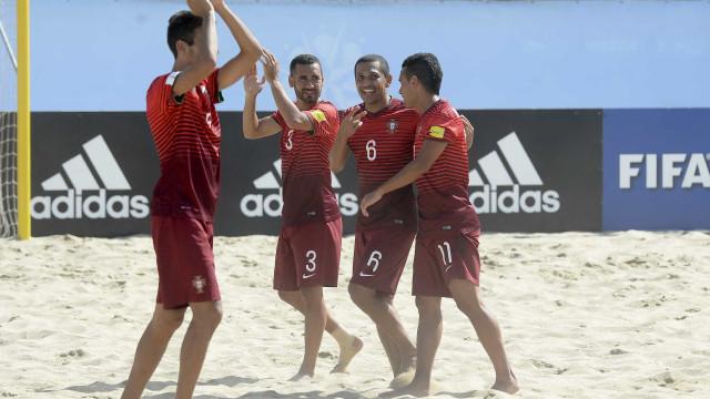 Portugal conquista Mundialito de futebol de praia na despedida de Alan