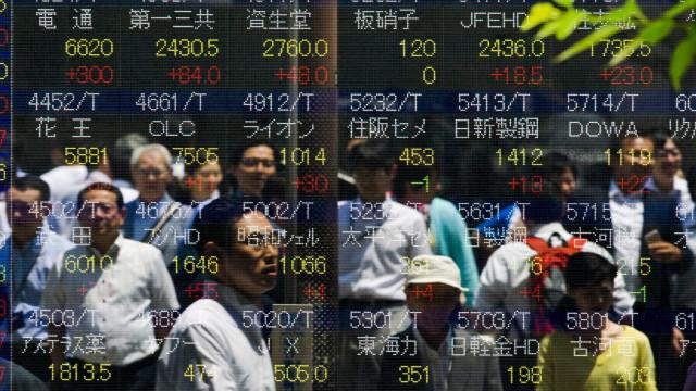 China e Japão de 'costas voltadas' no início da semana