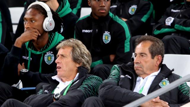 """Octávio Machado ao lado do plantel: """"Eu queria lá estar"""""""