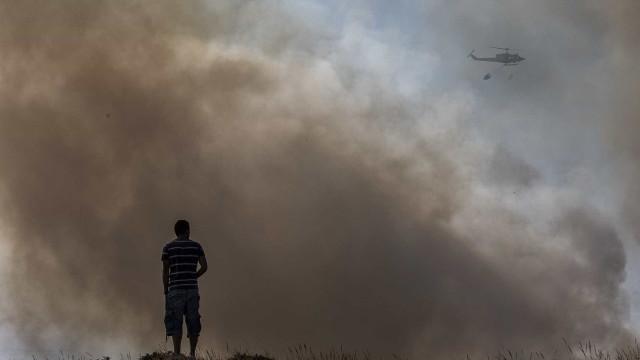 """Por precaução """"estamos a evacuar um conjunto de aldeias"""""""