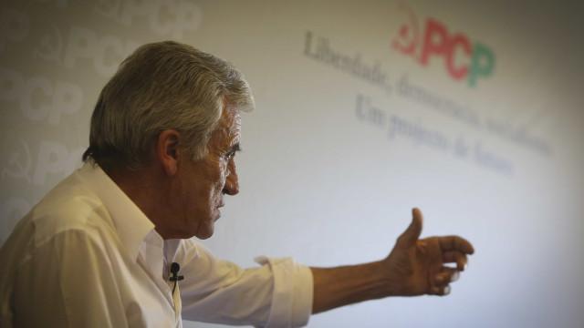 """PCP recusa consensos com um PSD que quer """"andar para trás"""""""