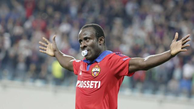 Seydou Doumbia perto de assinar pelo Sporting