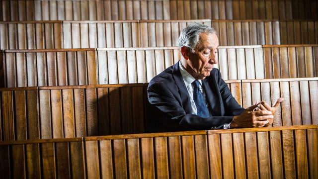 Marcelo Rebelo de Sousa recusa 'bate papo' sobre relações com Governo