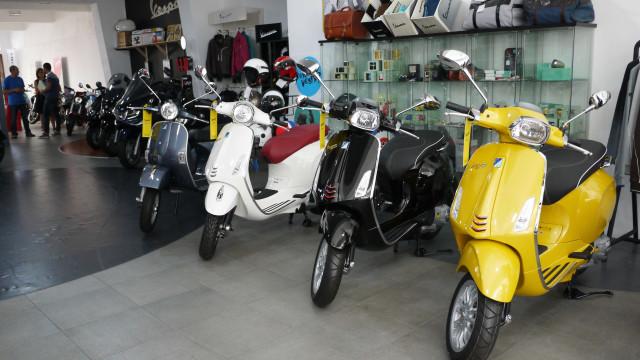 Mercado deveículos de duas rodas cresceu 37,7% emjaneiro