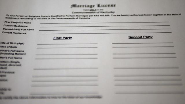 Atrasam licença de casamento por acharem que Novo México é um país