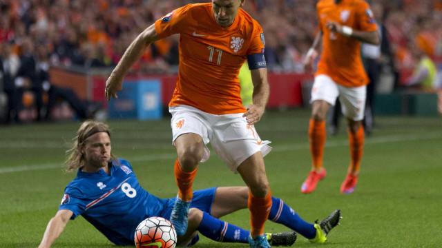 Robben abandona a seleção holandesa