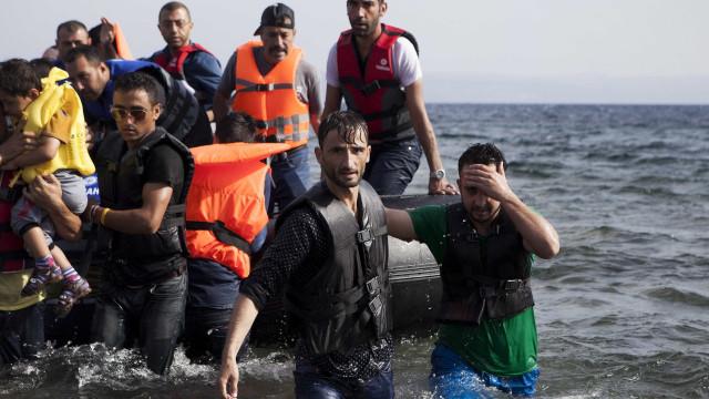 GNR resgatou 48 pessoas no mar Egeu, entre elas 18 menores